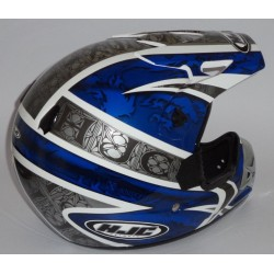 Casco HJC CS X3 Knight blu Mc-2
