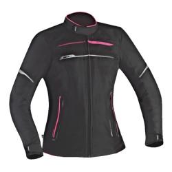 Giacca da moto per donna IXON ZETEC LADY C HP nero/rosa