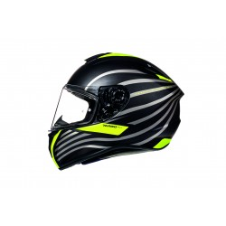 Casco integrale MT modello TARGO DOPPLER A1 MATT FLUO YELLOW