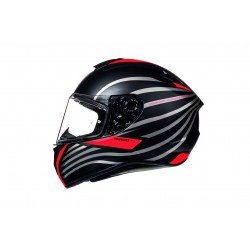 Casco integrale MT modello TARGO DOPPLER A0 MATT FLUOR RED