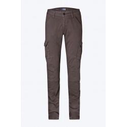 Pantalone da moto PMJ SANTIAGO colore marrone