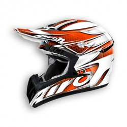 Casco AIROH CR 901 LINEAR Orange Gloss
