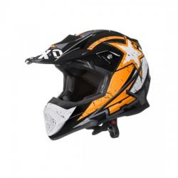 Casco motocross enduro AXO TRIBE arancione