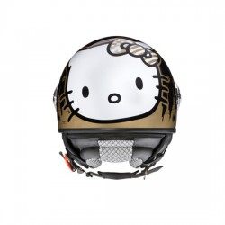 CASCO AXO HELLO KITTY NERO/ORO
