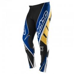 Pantaloni da Trial HEBO TRIAL PRO azzurro giallo