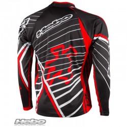 Maglia da Trial RACE PRO Hebo rosso nero