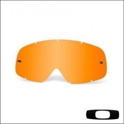 Lente di ricambio originale per Oakley O Frame Persimmon arancione