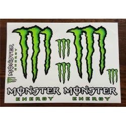 Kit adesivi MONSTER ENERGY 4R