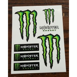 Kit adesivi 4R MONSTER ENERGY