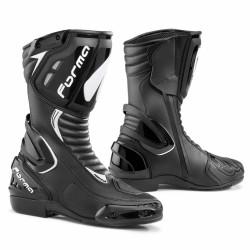Stivali racing di FORMA modello FRECCIA nero/bianco