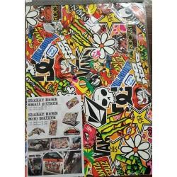 Sticker BOMB 4R 35X50cm.