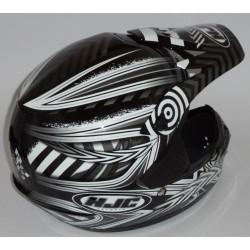 Casco da motocross HJC CS MX Charge MC-5 colore nero
