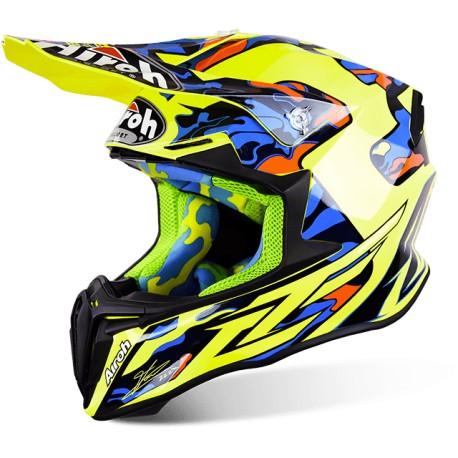 Casco motocross/enduro AIROH Twist TC 16 gloss