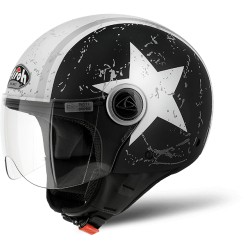 Casco Airoh jet Compact Pro Shield Matt Black CPPSH35