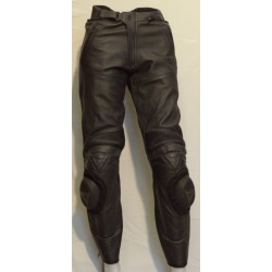 Pantalone P.103 Dainese in pelle colore nero