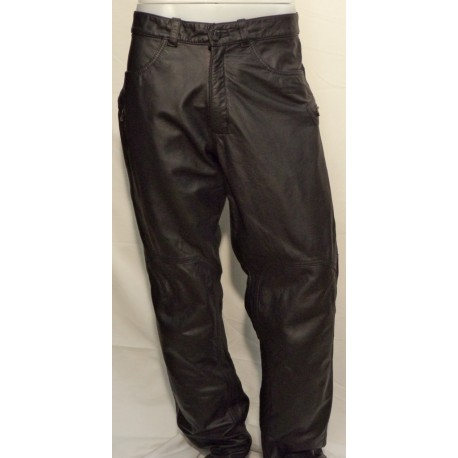 Jeans Trophy Pelle Dainese colore nero