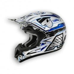 Casco AIROH JUMPER Mister X Blue da motocross