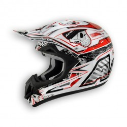 Casco AIROH da enduro o motocross JUMPER Mister X Red