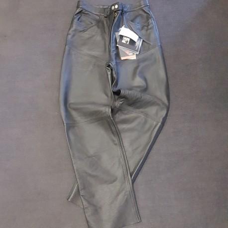 Pantalone in pelle Dainese Gan nero
