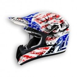 Casco AIROH cross CR 901 PATRIOT
