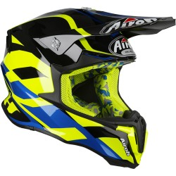 Casco Cross Airoh TWIST Great yellow gloss