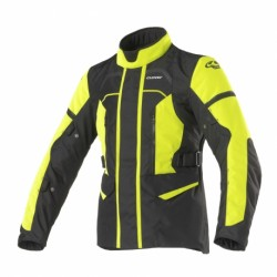 Giacca CLOVER STORM-3 LADY nero/giallo fluo