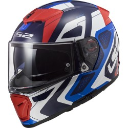 Casco integrale LS2 BREAKER FF390 Android blue red