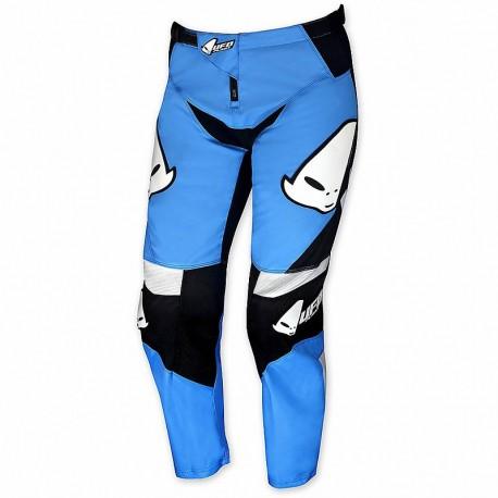 Pantalone Moto Cross Bambino Ufo Plast Revolt Blu