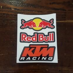 Adesivo KTM e REDBULL