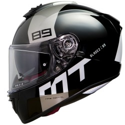 CASCO INTEGRALE MT BLADE 2 SV GLOSS PEARL GRAY