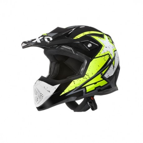 Casco cross AXO TRIBE giallo