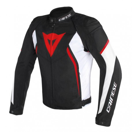 Giacca Dainese  AVRO D2 TEX JACKET TESSUTO rosso