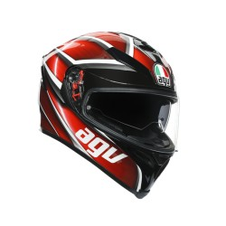 AGV K5 S MULTI- TEMPEST BLACK/RED