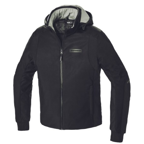 SPIDI Giacca H2Out Hoodie Armor nero