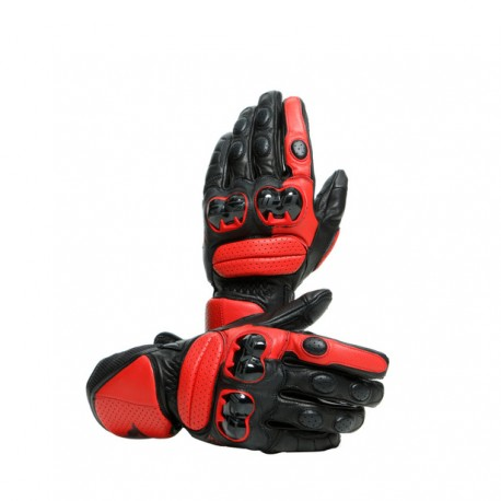 DAINESE  IMPETO GLOVES nero rosso