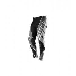 Pantaloni da Trial HEBO TRIAL PRO grigio bianco nero