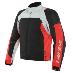 DAINESE SPEED MASTER D-DRY JACKET Glacier-Gray/Lava-Red/Black