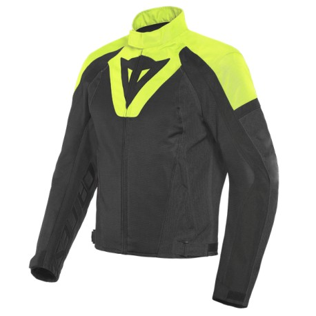 DAINESE  LEVANTE AIR TEX JACKET Black/Fluo-Yellow/Black