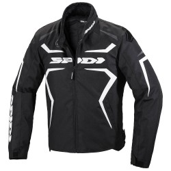 SPIDI giacca SPORTMASTER H2OUT nero/bianco