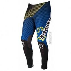 Pantalone ad moto trial HEBO TRIAL PRO 16 blu e verde