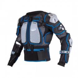 Pettorina da motocross AXO AIR CAGE ADULTO nera/blu