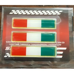 Adesivi 3D 4R bandiera italiana